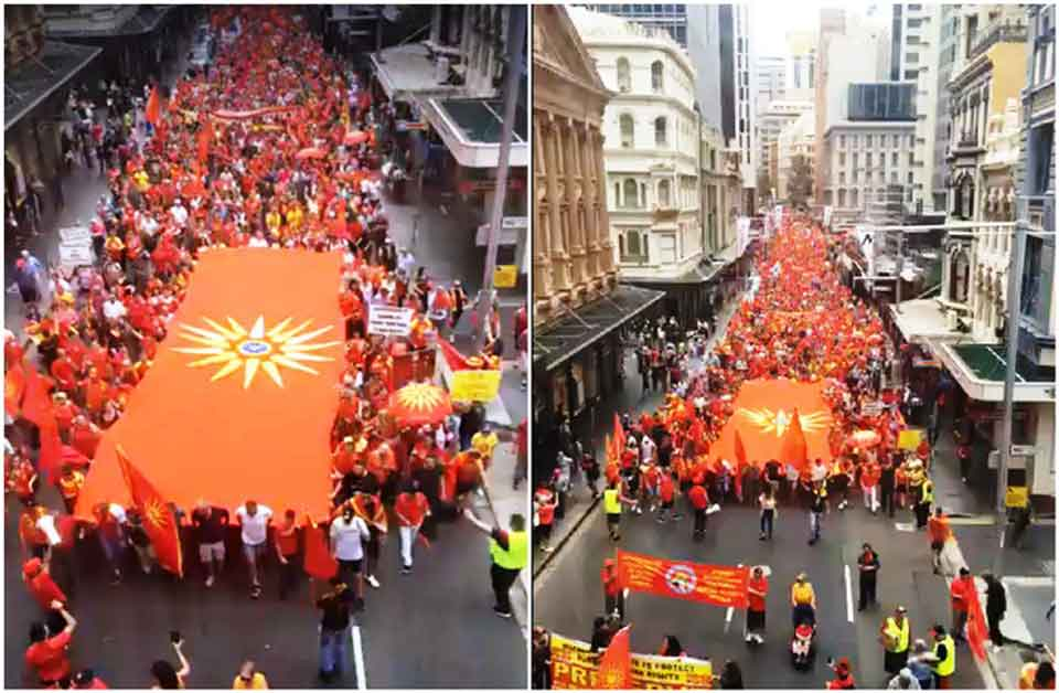 More than 30000 Macedonians in Sydney