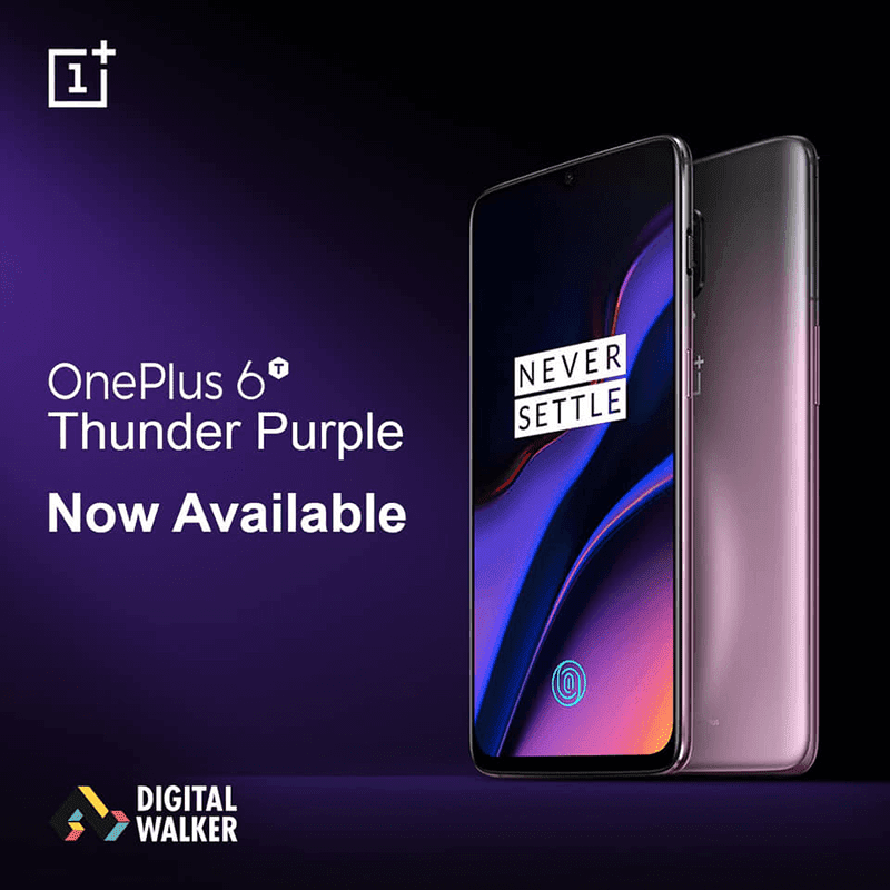 OnePlus 6T Thunder Purple arrives in the Philippines!