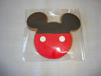 Galleta contorno Mickey Mouse