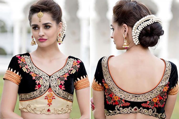 Fashion saree blouse designs 61