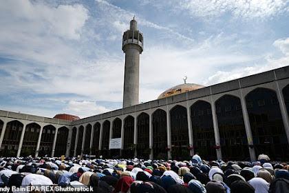 Subhanalloh, Populasi Muslim di Inggris Bertambah