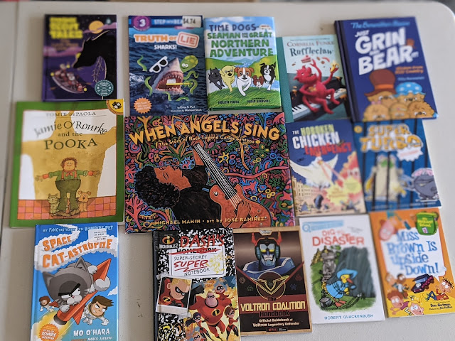 kids book lot for boys