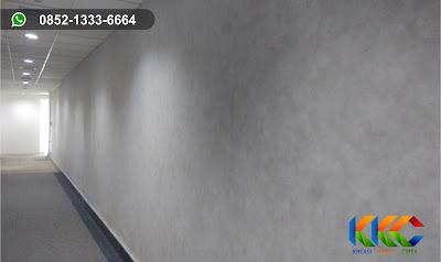 wash paint semen ekspos koridor kantor