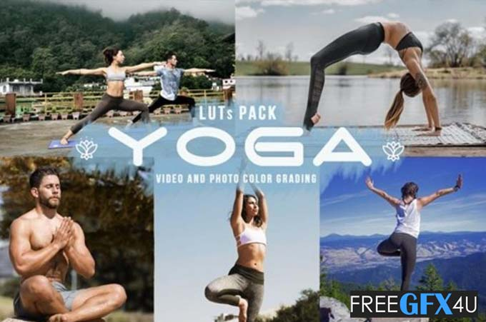 Yoga LUTs - 11 Yoga Looks For Video Creators