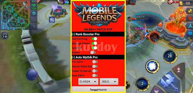 Apk Mod MLBB Auto Mythic 100% Work Ranked Patch Terbaru