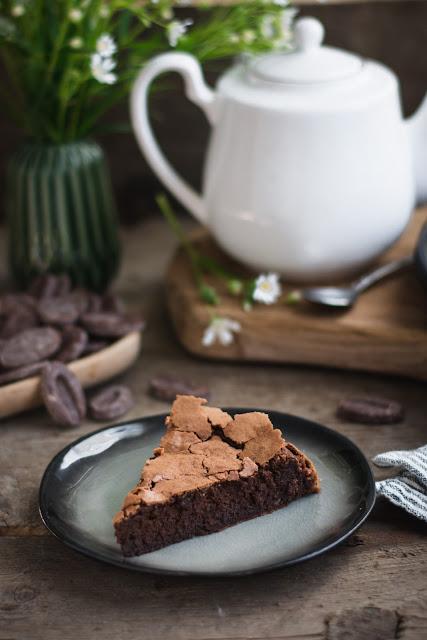 Part de gâteau au chocolat de Frédéric Bau