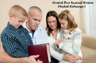 Contoh Doa Syafaat Kristen Ibadah Keluarga 1