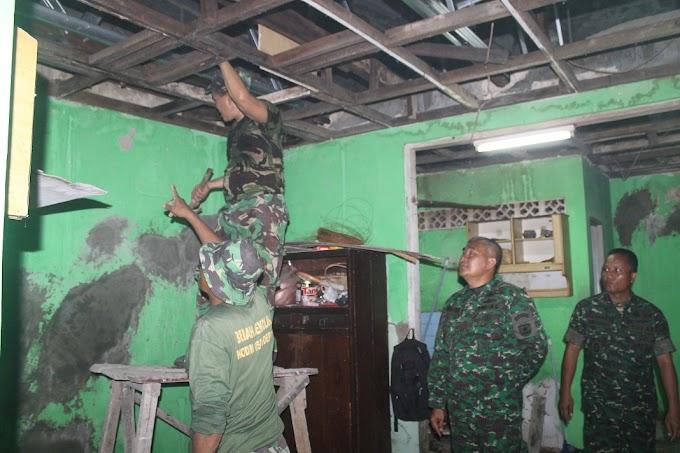 Rehab Rumah Veteran Kodim Depok Diwarnai Tetesan Air Mata