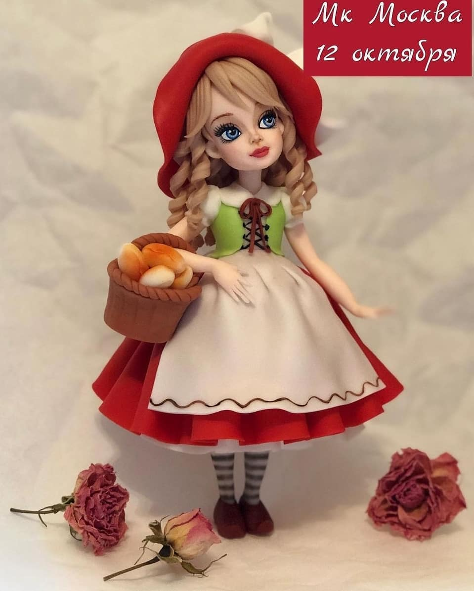 Traditional doll cake