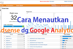 Cara menghubungkan Adsense dengan Google Analytics