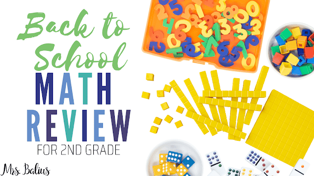 Grab these amazing resources for the entire year in this back to school math review.