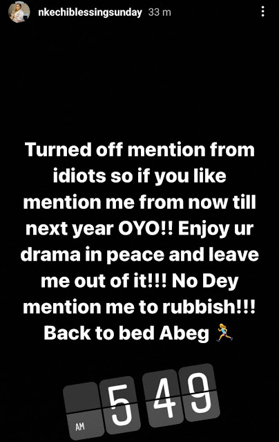 Bobrisky and Nkechi Blessing fights over her respond to a fan who tattooed her