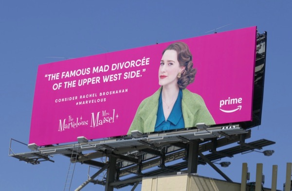 Mrs Maisel famous mad divorcee Emmy billboard