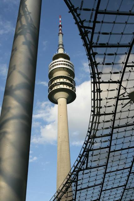 Torre de TV no Olympiapark em Munique