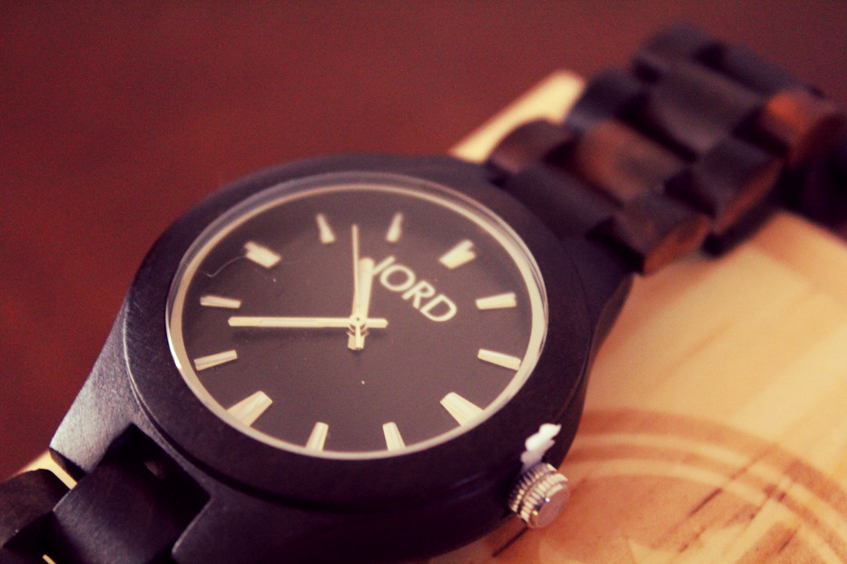 Vegan-friendly Wood Watch by Jord