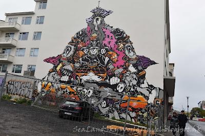 雷克雅未克 Reykjavík ,Laugavegur street, shopping