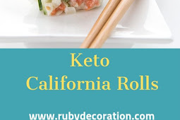 Keto California Rolls