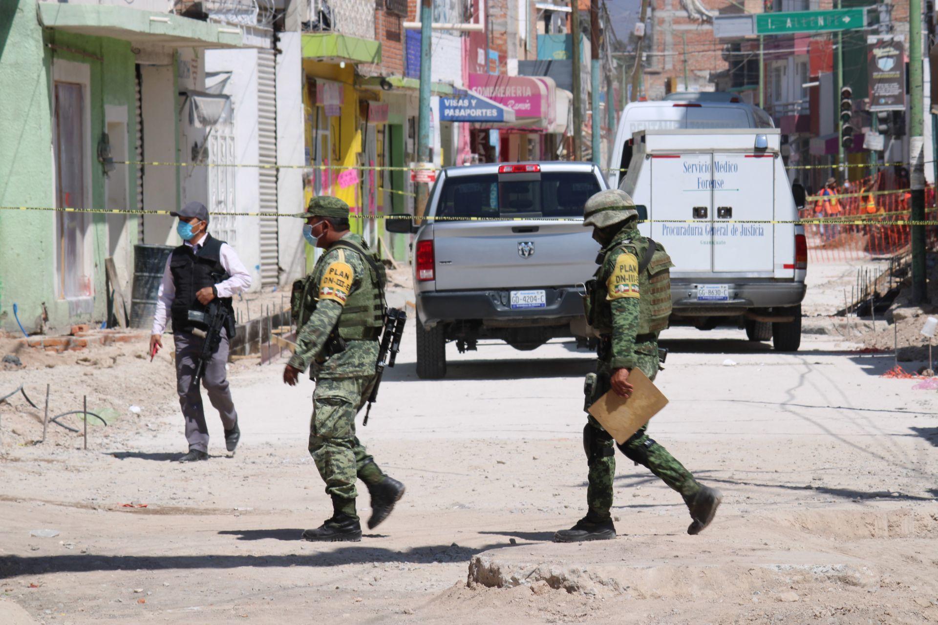 Ataque de Sicarios en Comonfort, Guanajuato deja cinco muertos y tres heridos