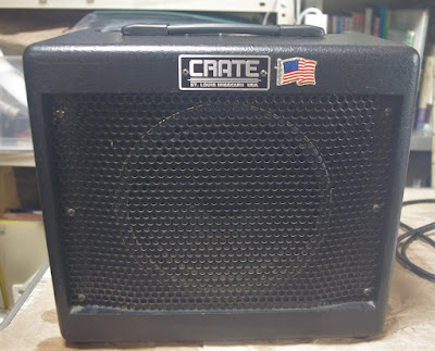 front view of Crate VC508 amplifier