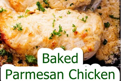 Baked #Parmesan #Chicken