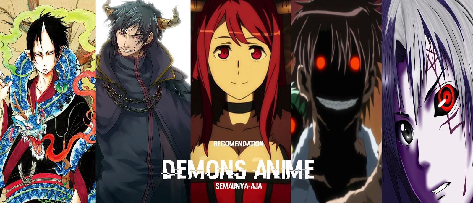 18 rekomedasi demons anime