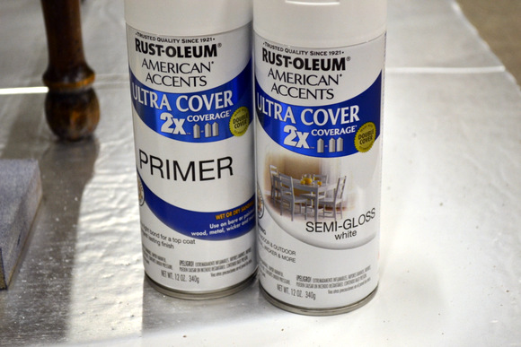 Rustoleum Primer Rustoleum Spray Paint Semi-Gloss White