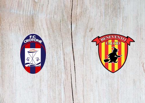 Crotone vs Benevento -Highlights 17 January 2021