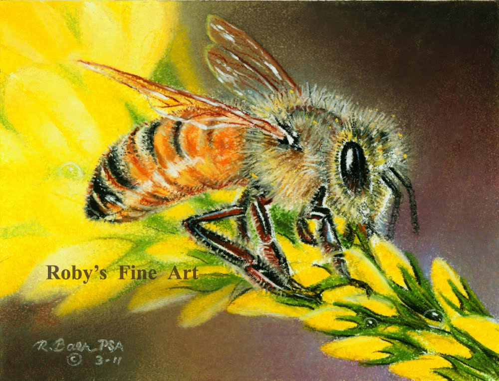 """Pastel Paintings by Roberta """"Roby"""" Baer PSA"""