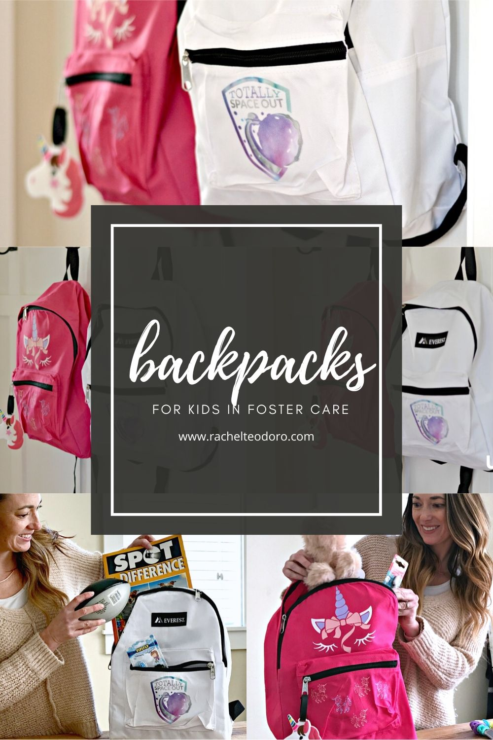 backpacks for children in the foster care system