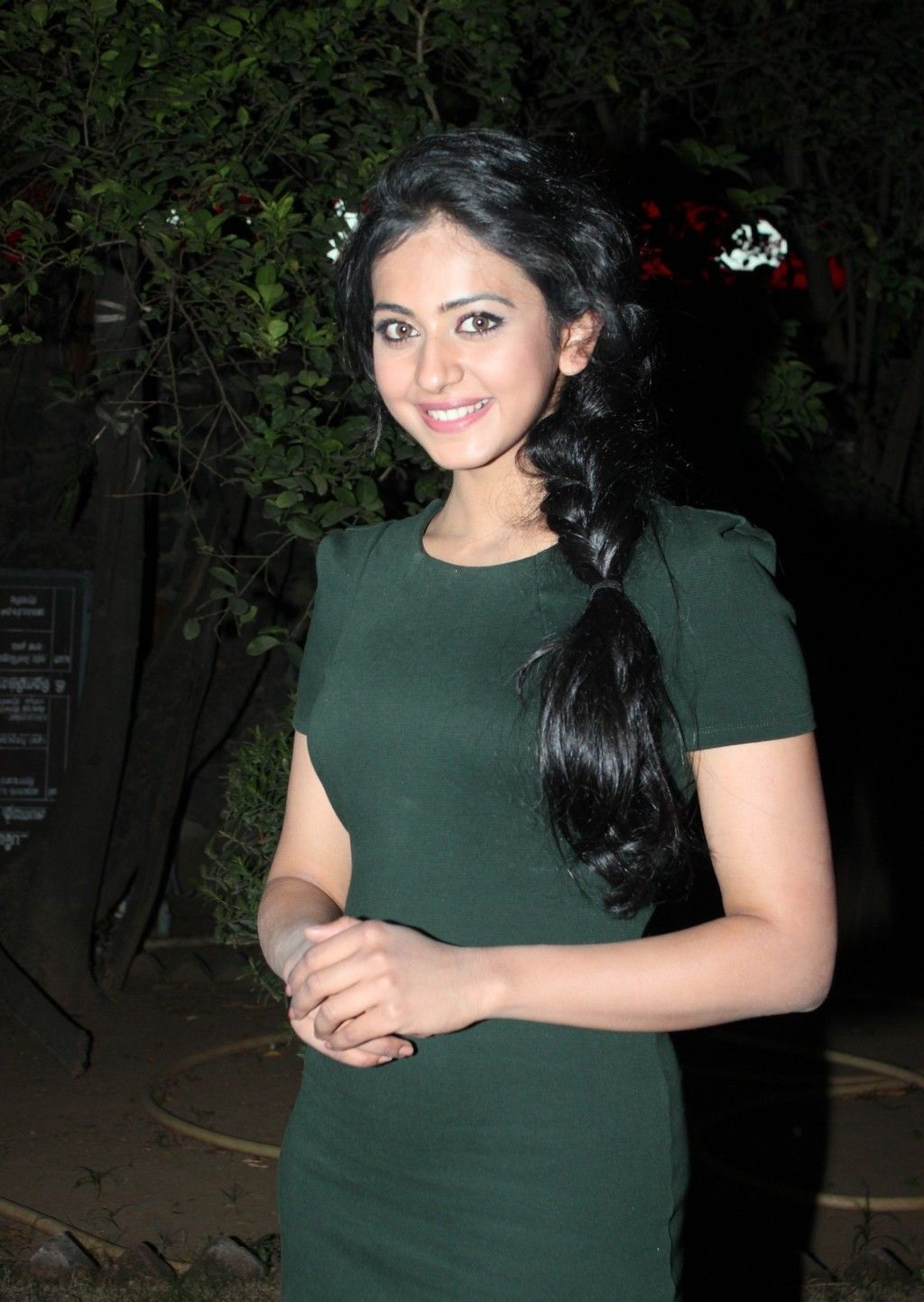 Rakul Preet Singh Gorgeous Photos In Green Dress