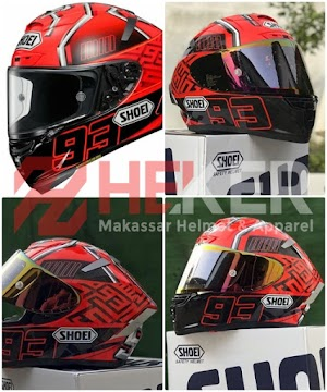 SHOEI Red Ant X14 | Helm Makassar