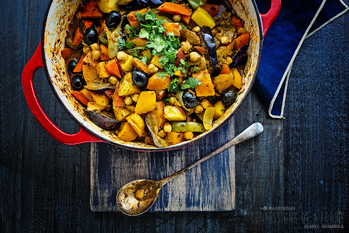 Confessions of a foodie moroccan vegetable tagine vegan im back with another tagine sauce today from mina if youve been following along on this tagine journey of mine you know that tagine is moroccan and it forumfinder Gallery
