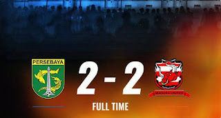 Persebaya vs Madura United 2-2 Highlights