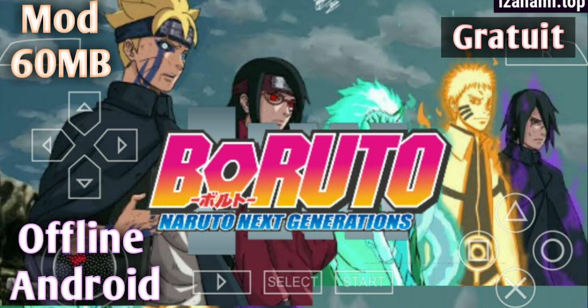 (Jeu Gratuit) Boruto: Naruto Next Generation MOD PPSSPP pour Android || NSUNI - izanami.top