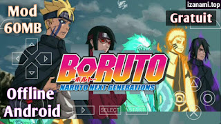 (Jeu Gratuit) Boruto: Naruto Next Generation MOD PPSSPP pour Android    NSUNI