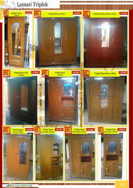 Model Lemari Hias Jepara Katalog Produk Furniture Mebel Klender - Allia Furniture