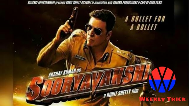 Sooryavanshi Full Movie 720p/480p HD Leaked By Filmywap