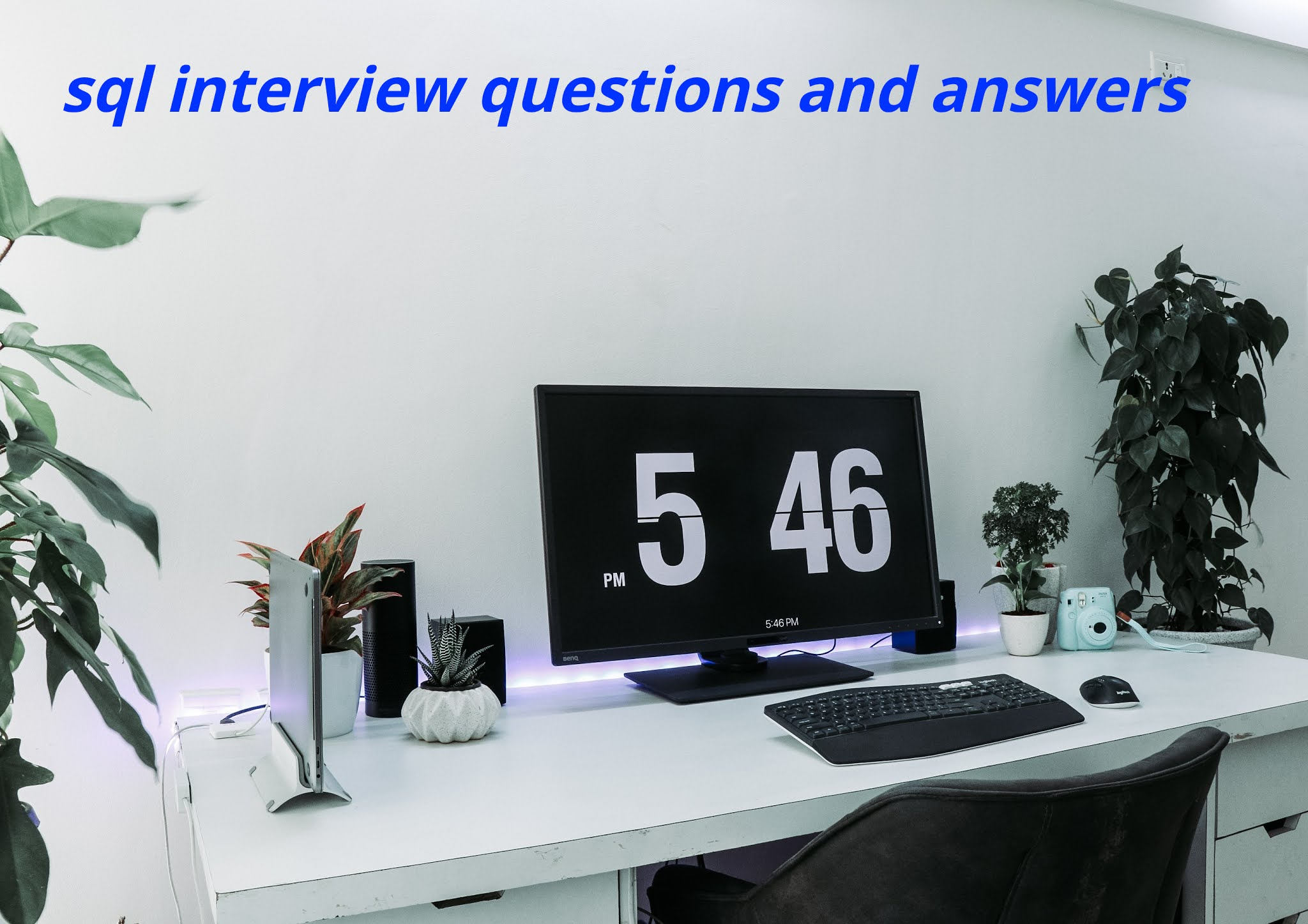 Basic sql interview questions and answers