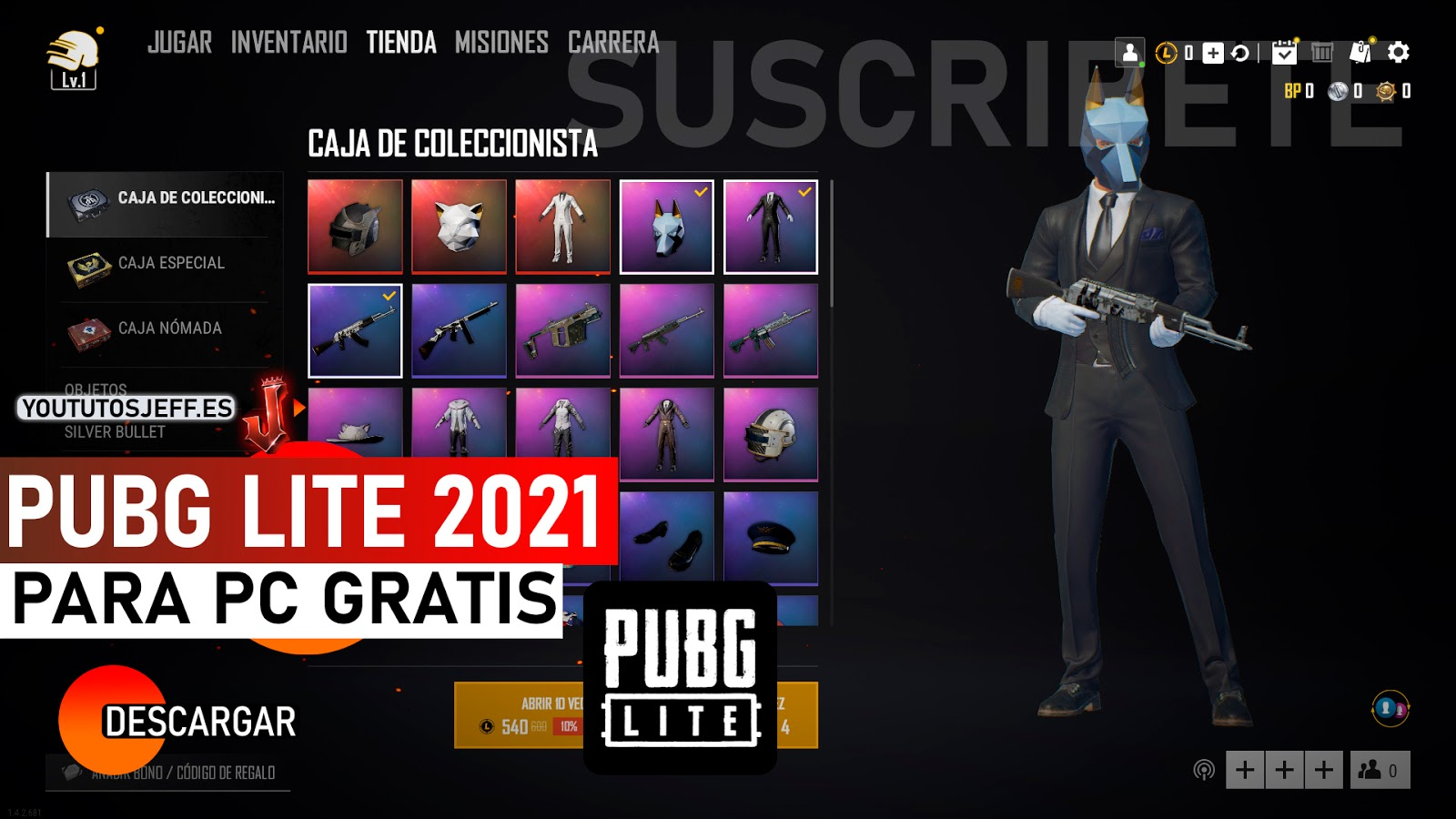 Como Descargar PUBG Lite 2021 Para PC de Pocos Recursos