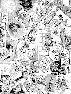 collage download victorian image digital