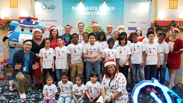Blokganza Dream Christmas at Quill City Mall KL