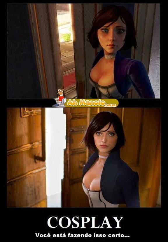 O cosplay mais realista que você já viu