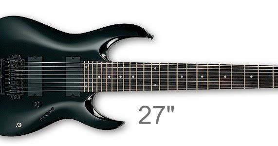 theguitaraddict 8 string guitars scale differences. Black Bedroom Furniture Sets. Home Design Ideas