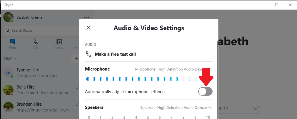 Extra Parts: Fixed: Skype automatically changing Mic levels