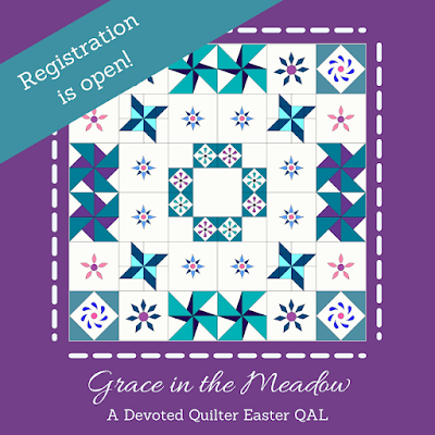 Grace in the Meadow quilt along | DevotedQuilter.com