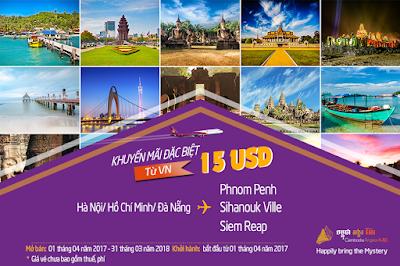 Khám phá Angkor huyền bí cùng Cambodia Angkor Air