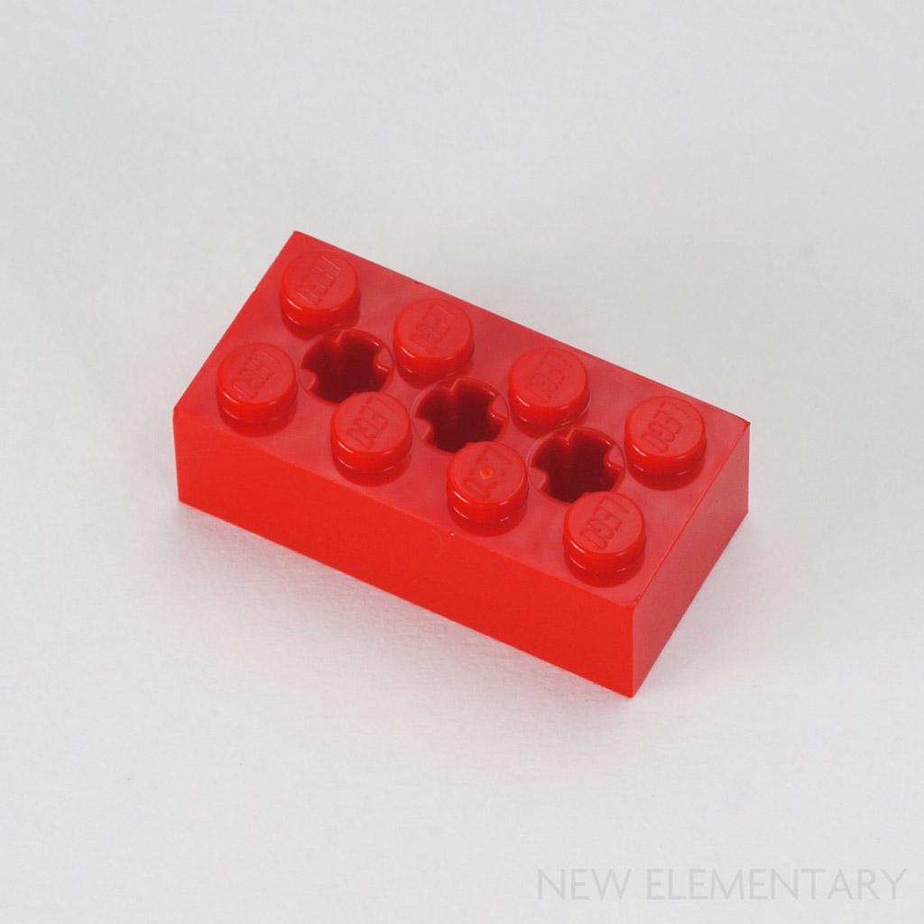 Lego 21x Black Technic Brick 1 x 1 with Hole NEW