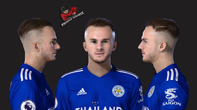 PES 2021 Faces James Maddison by Prince Hamiz