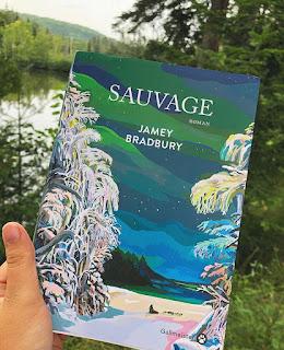 """Photo du roman """"Sauvage"""" de Jamey Bradbury chez Gallmeister"""