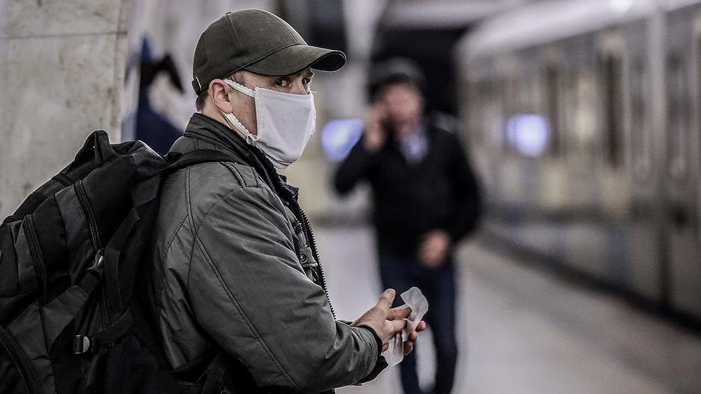 Rusia se mantiene por debajo de los 10.000 casos diarios por octavo día consecutivo